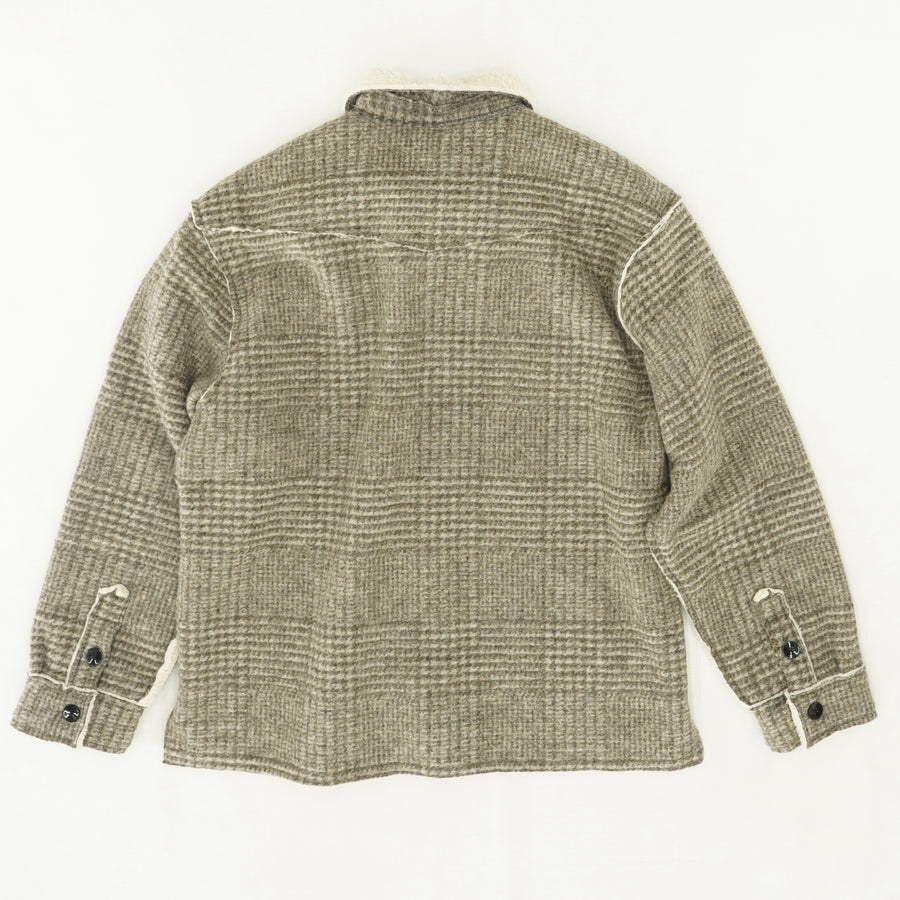 Tweed Two Pocket Jacket Size XL