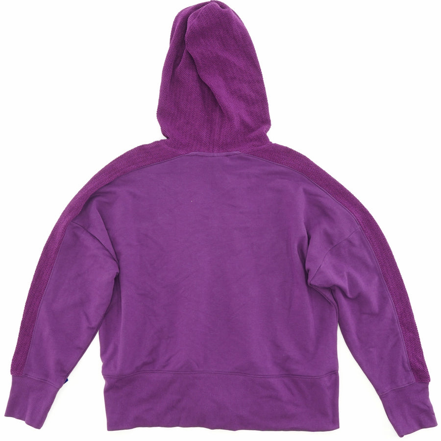 Purple Long Sleeve Zip-Up Hoodie