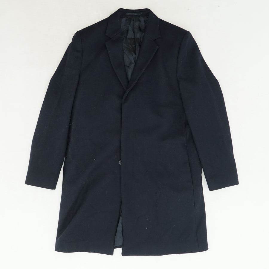 Black Trench Coat Size 42