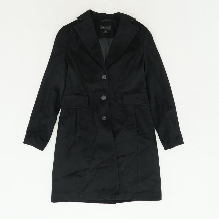 Collared Button-Up Coat