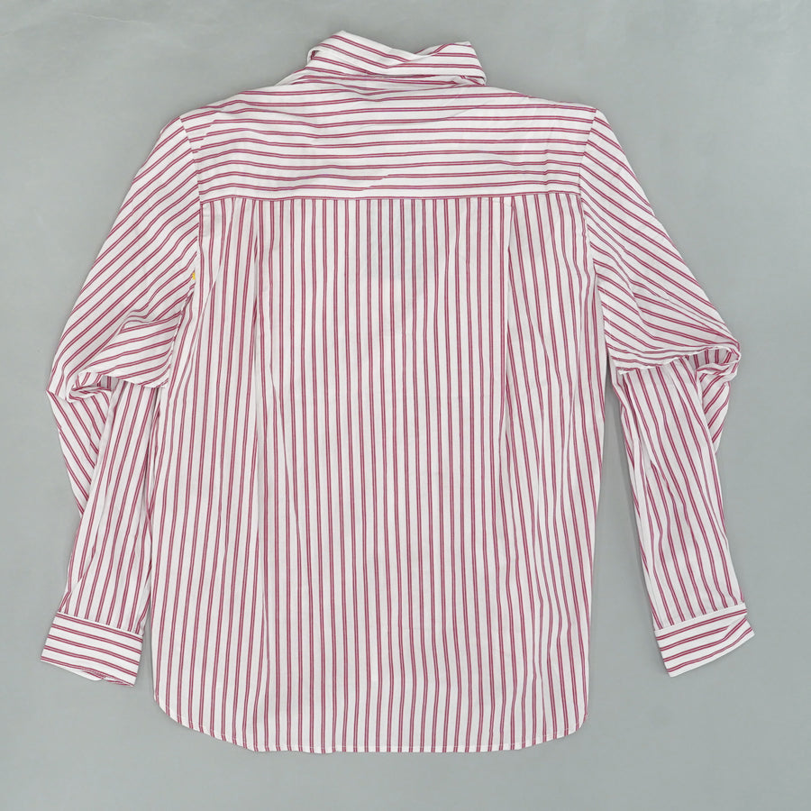 Red And White Striped Button Down Size M