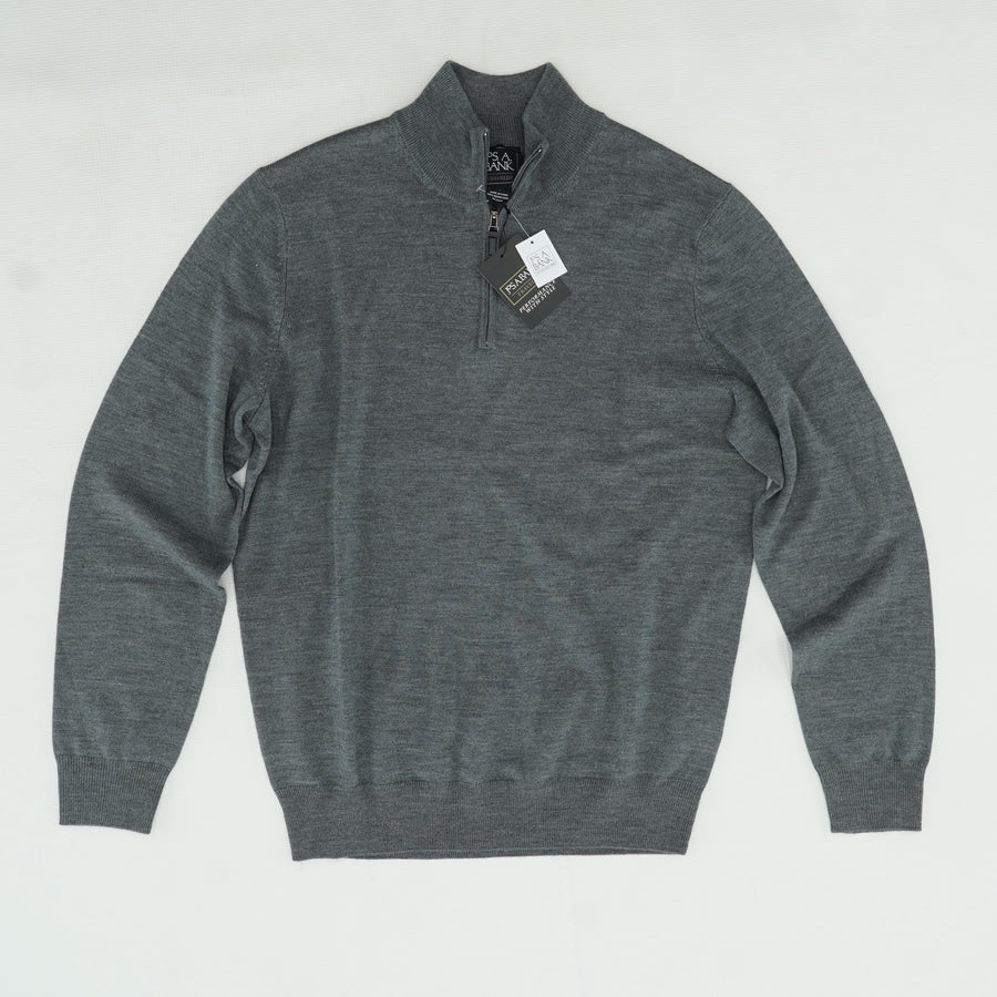 Gray Traveler Merino Wool Sweater Size M