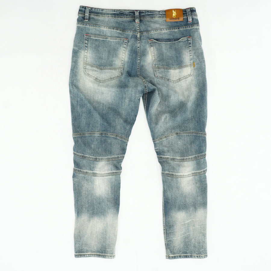 Distressed Jeans Size 40W 32L