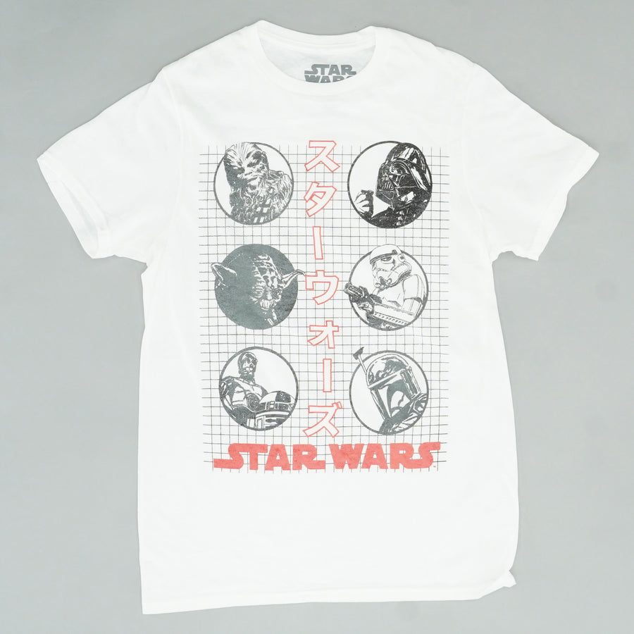 6 Character Star Wars Graphic Tee Size S