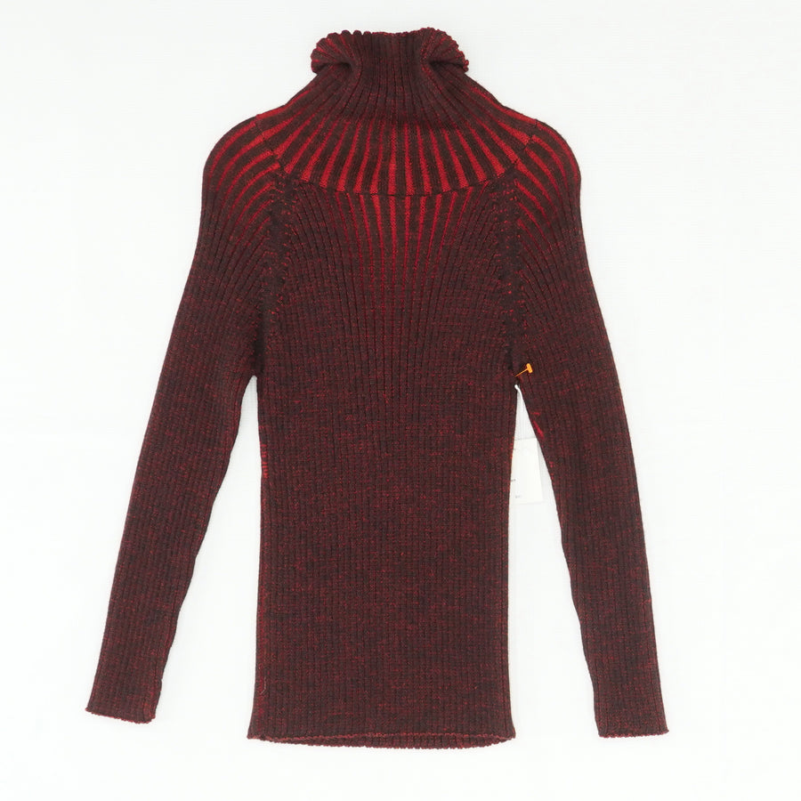 Red Turtleneck Sweater Size S
