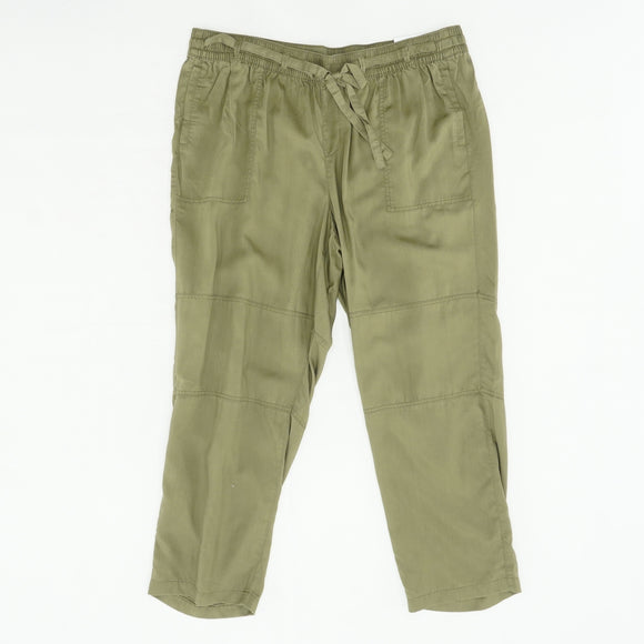 Lightweight Ankle Pull- On Pant Size 18/20