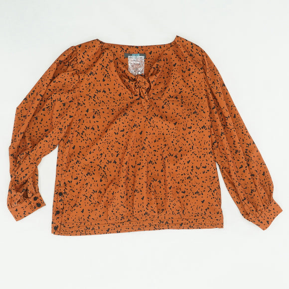 Tula Tie Top In Jungle Dot Size 6