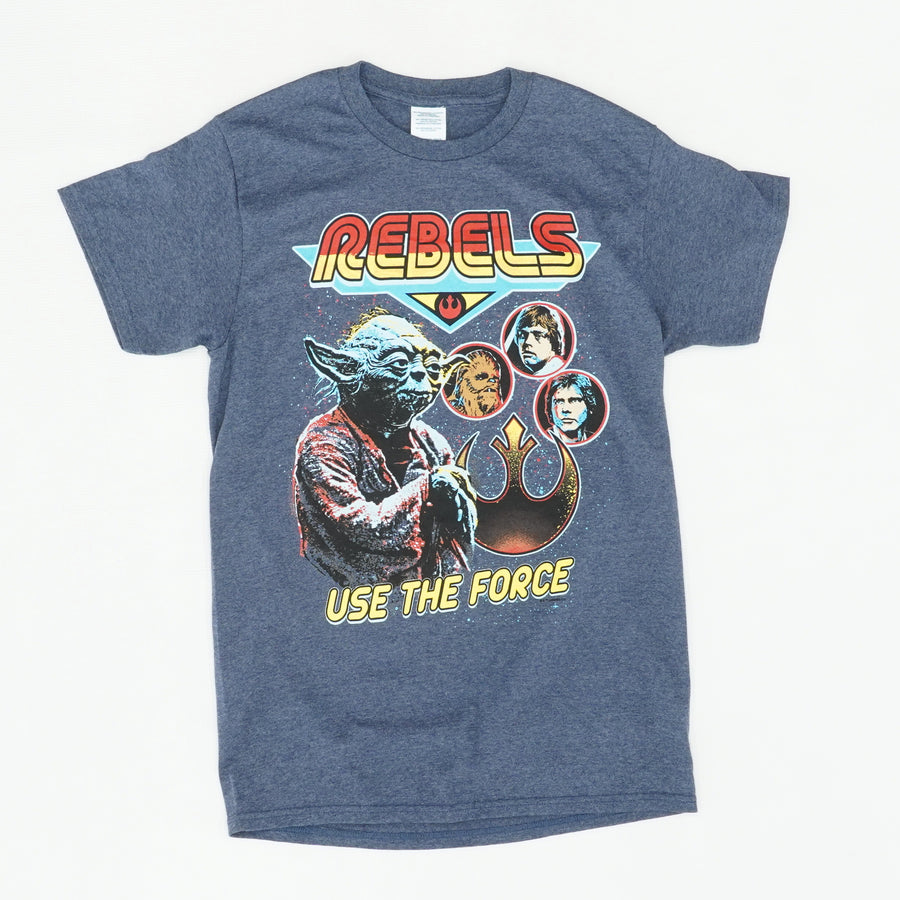 Rebels Characters Use The Force Graphic Tee