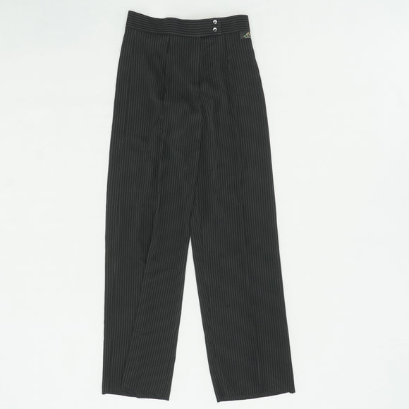 "Pin-Striped Dance Trouser Unhemmed Size 46 (30.5"")"