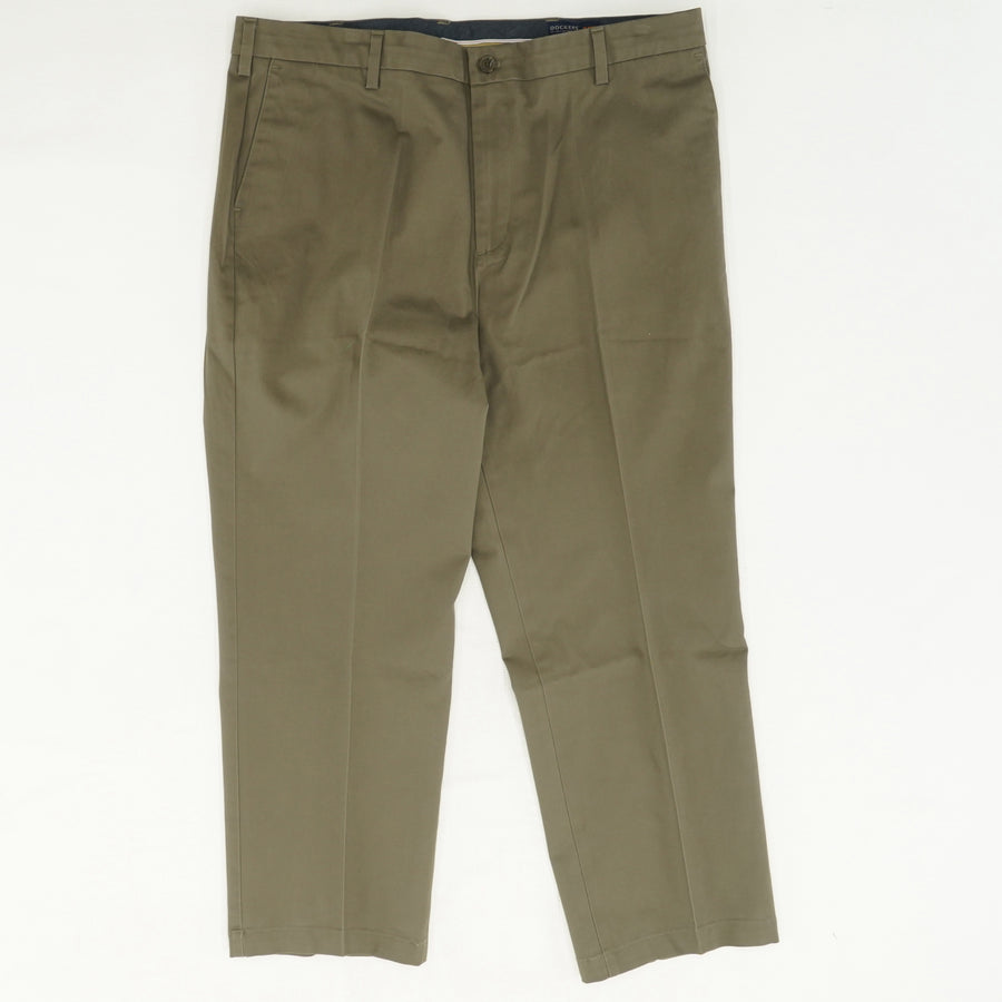 Solid Brown Slacks Size 40W 29L