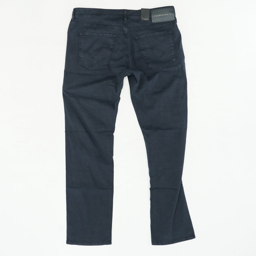 Jack Cotton Linen Stretch 5 Pocket Jeans
