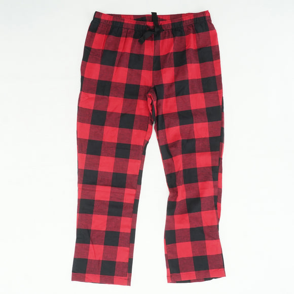 Plaid Flannel Pajama Pant Size L