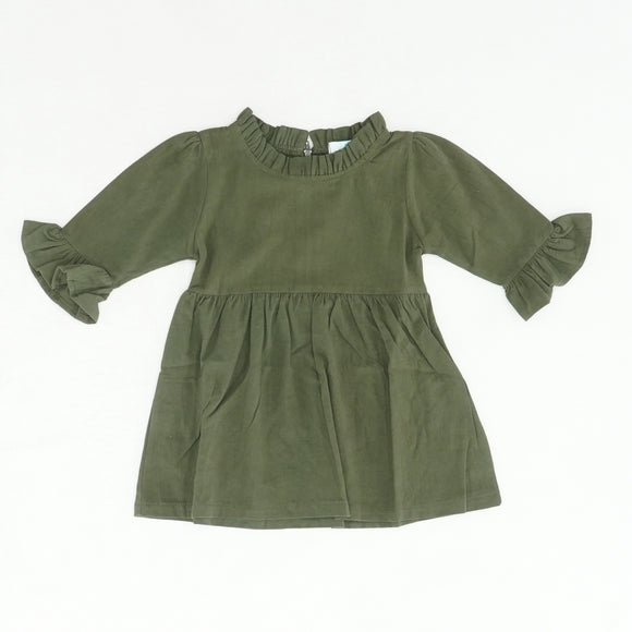 Green Ruffle Sleeve Blouse Size S