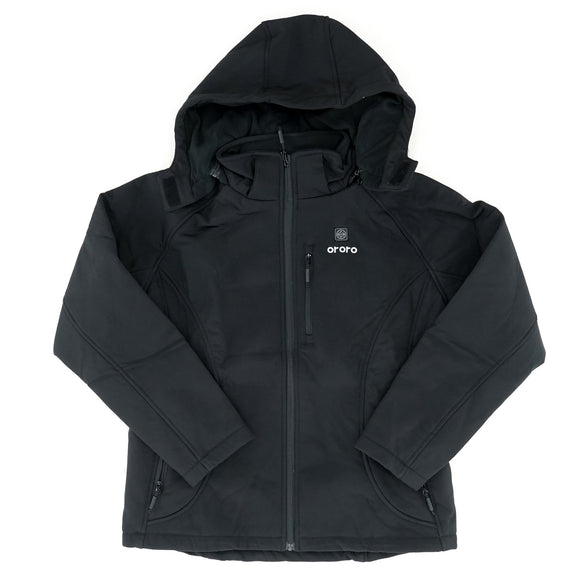 Heated Hooded Jacket Size L