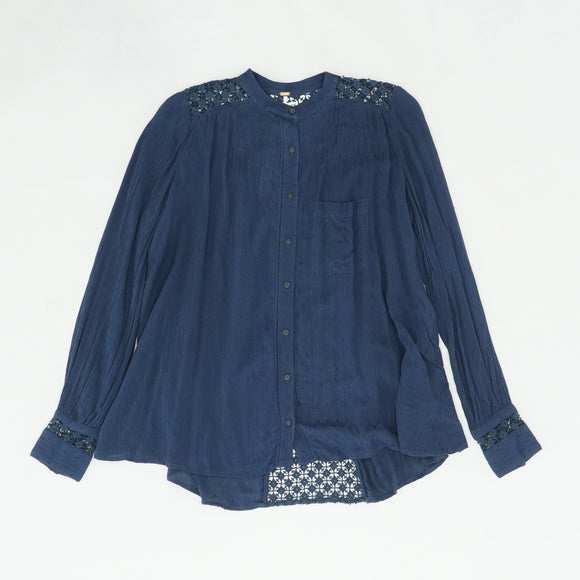 The Best Button Front Blouse Size XS