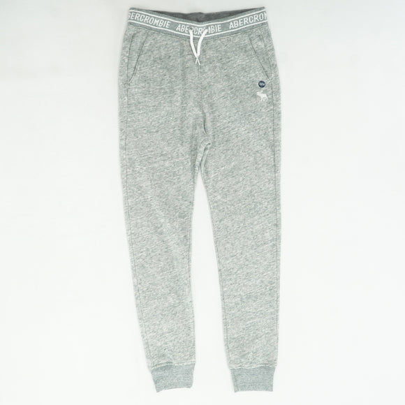 Gray Solid Jogger Size 13/14