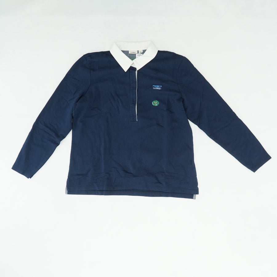 Rugby Long Sleeve Soft Cotton Classic Pullover Size XL