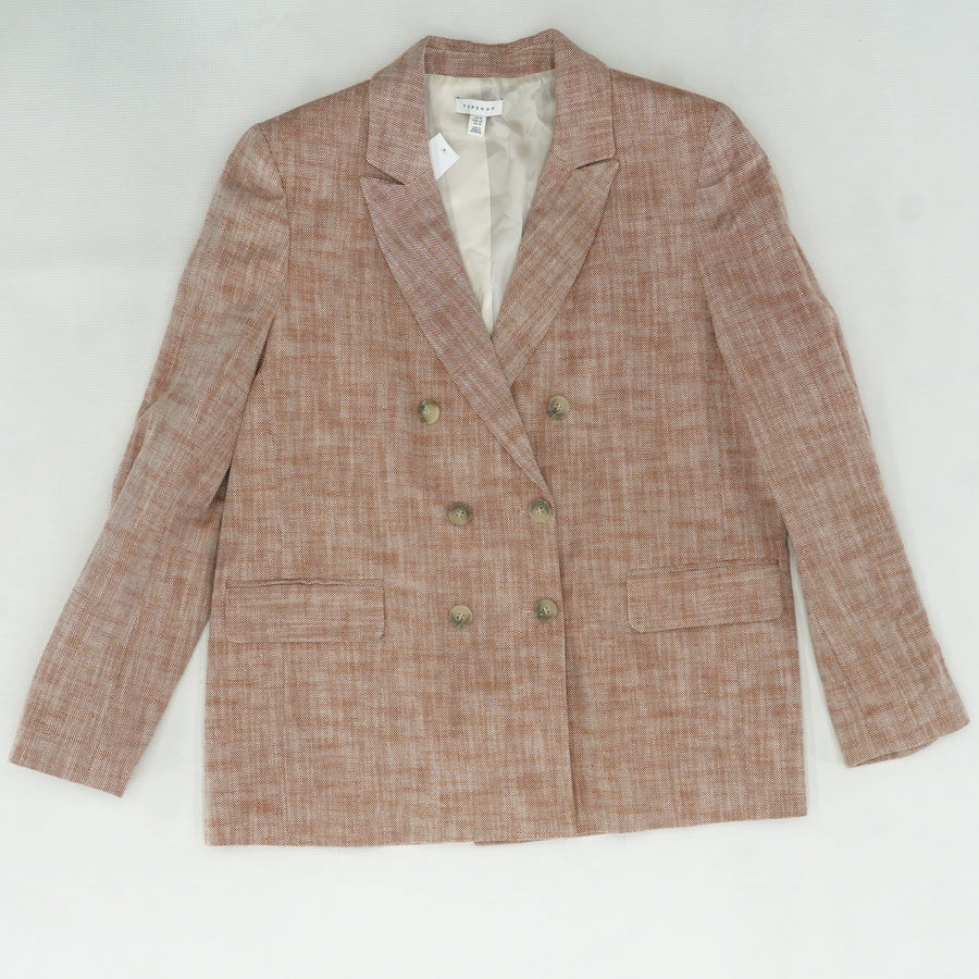 Mari Double Breasted Blazer Size 14