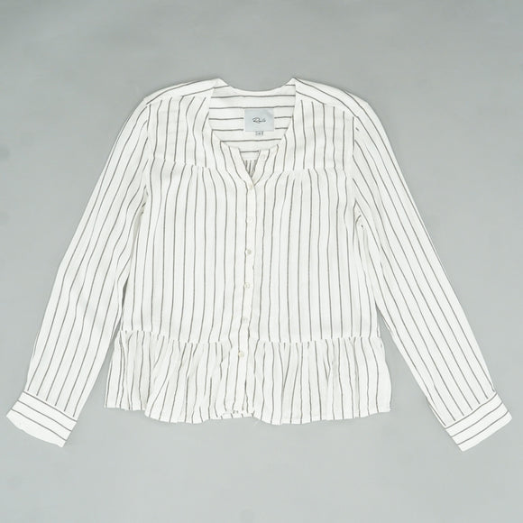 Ruby San Marino Stripe Button Down Size S