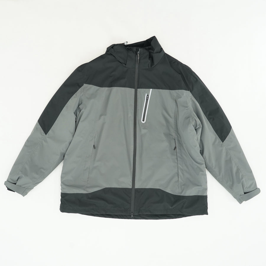 Waterproof Hooded Breathable Jacket Size 2XL