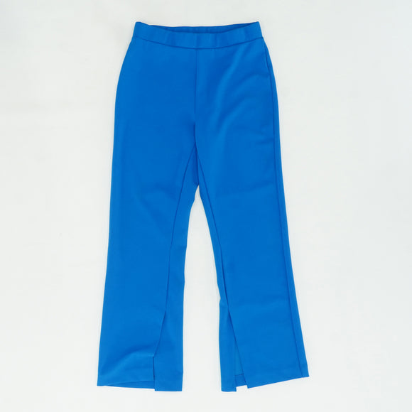 Crepe Ponte Pants with Inside Slit Size 2