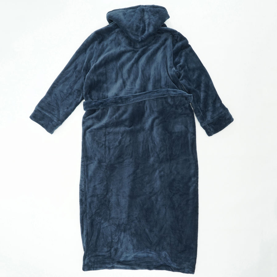 Hooded Plush Robe Size XL