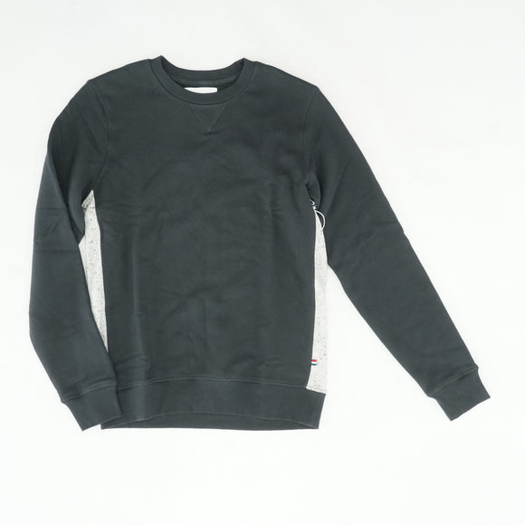 Black Pullover With Gray Side Stripe Size S