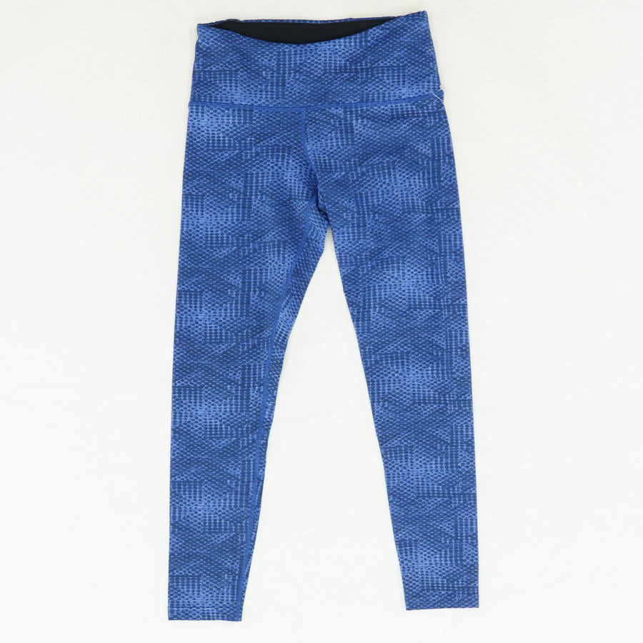 Blue Detailed Active Leggings Size XS
