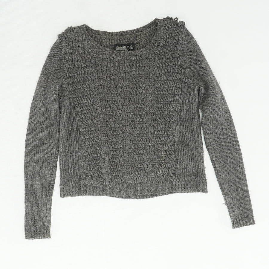 Gray Lambswool Sweater Size 2