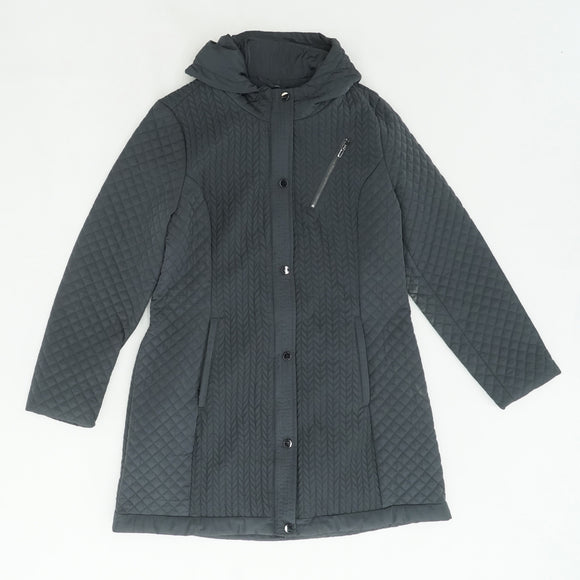 Hematite Torrance Dual Layer Puffer Coat Size L