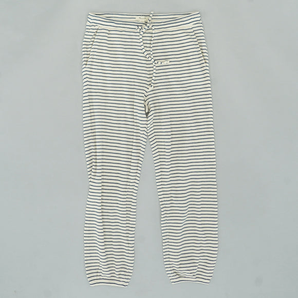 Ivory Striped Pant Size M