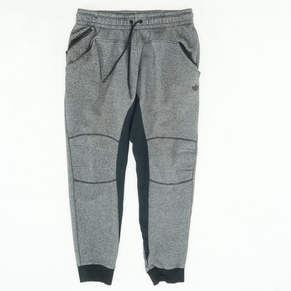 Black And Gray Jogger Sweatpant Size L
