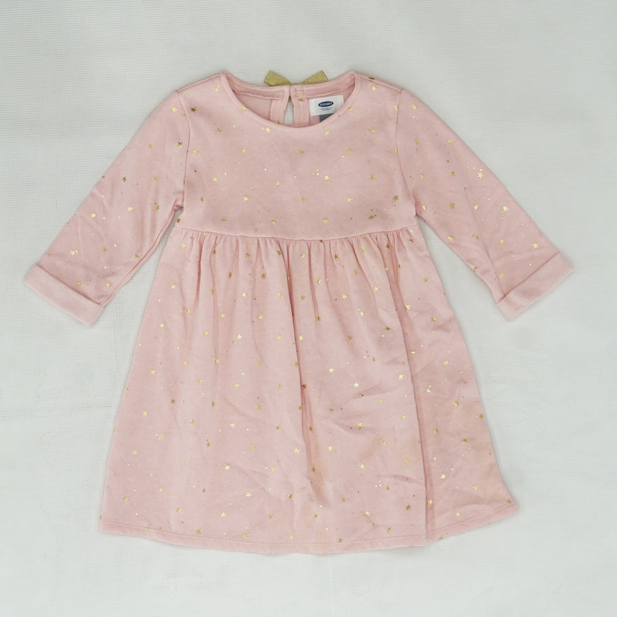 Pink Dress With Stars Size 5T