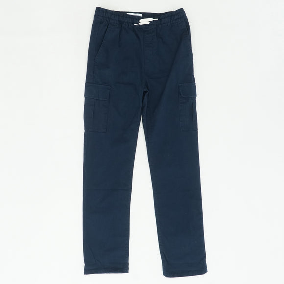 Navy Pull-On Cargo Pants Size 14/16