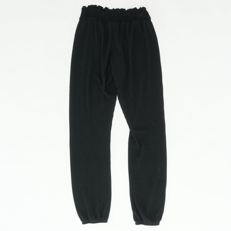 Black Thermal Jogger Pant Size XS