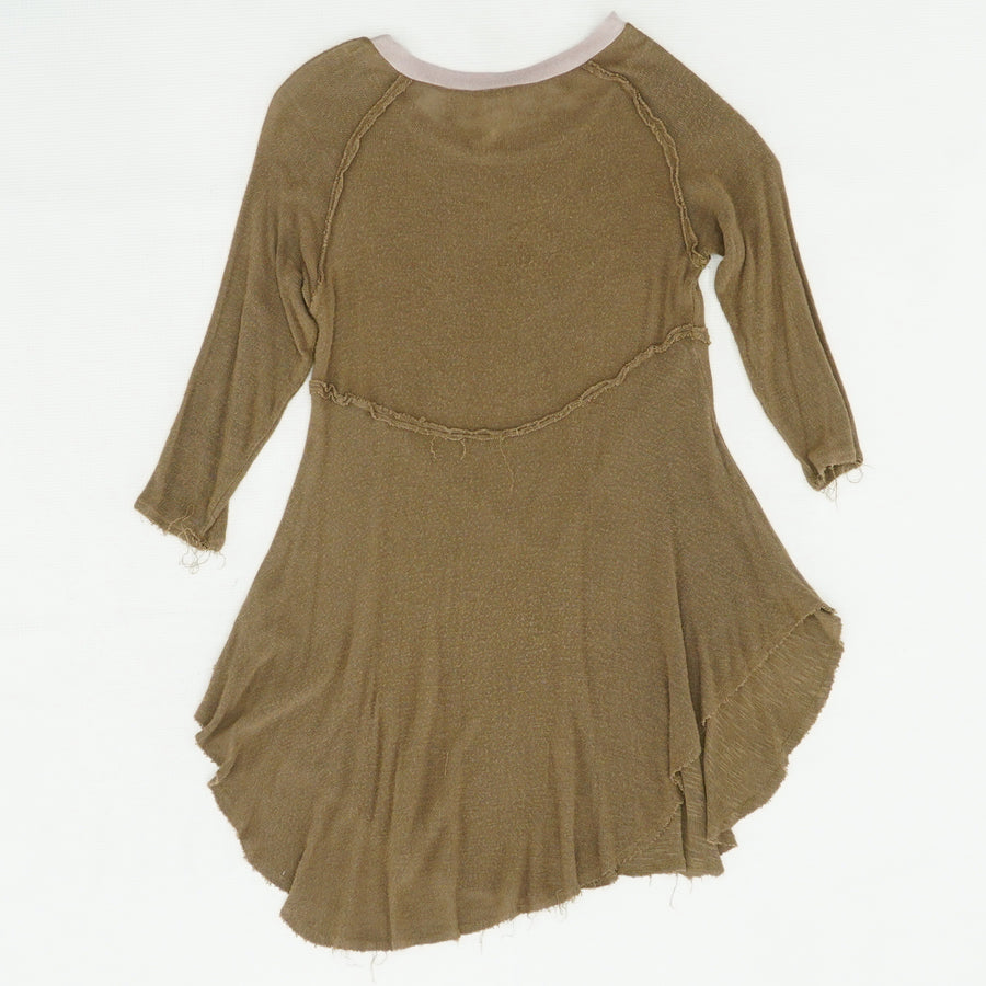 Brown Lightweight Top Size S