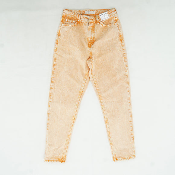 Orange Mom Jeans Size 4