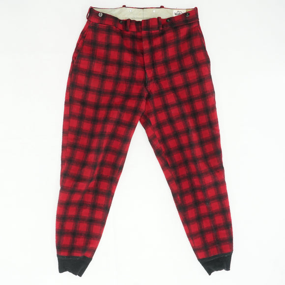 Vintage Plaid Hunting Pants Size 36W 30L