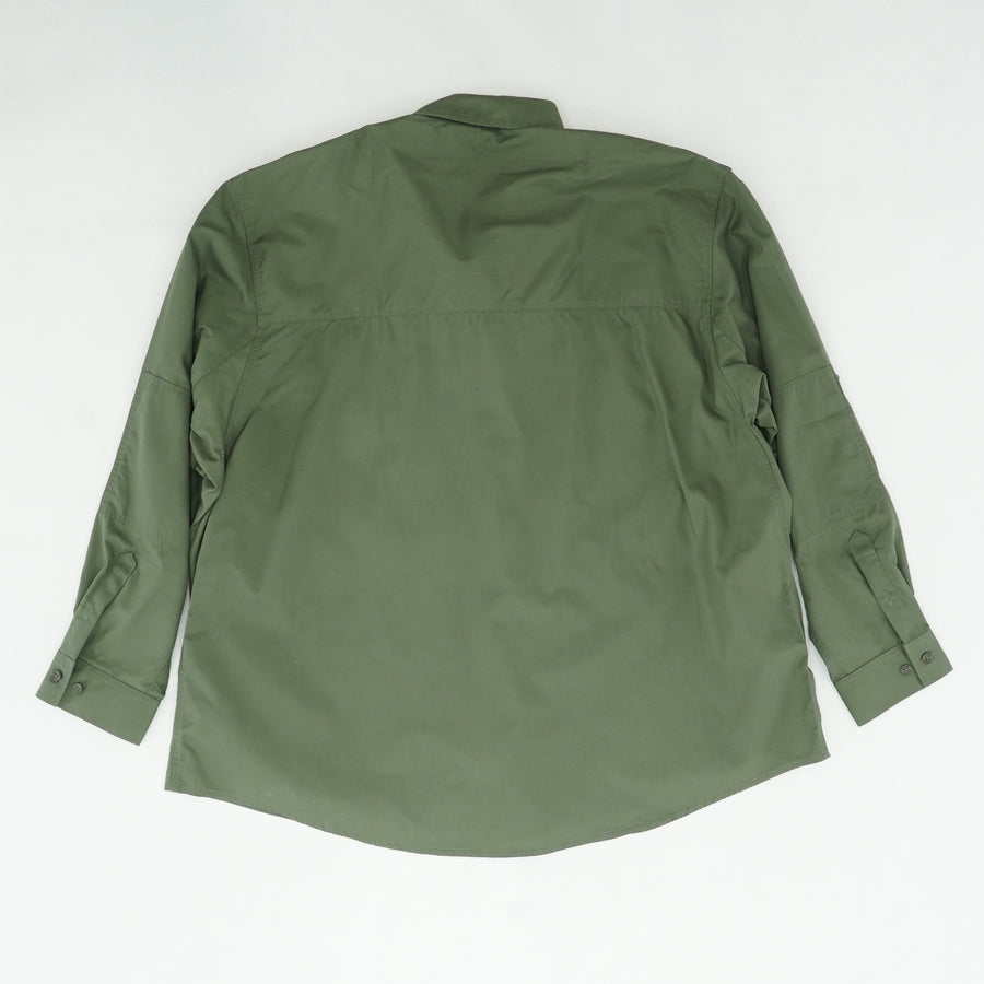 Green Tactical Shirt Size 3XL Neck 20""