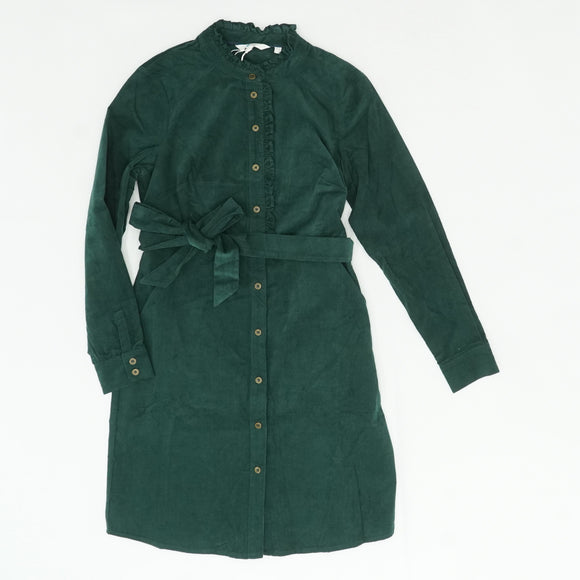 Green Evelyn Shirt Dress Size 4