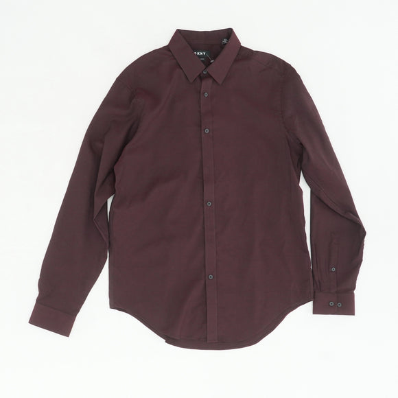 Mahogany Slim Fit Button Down Size 16