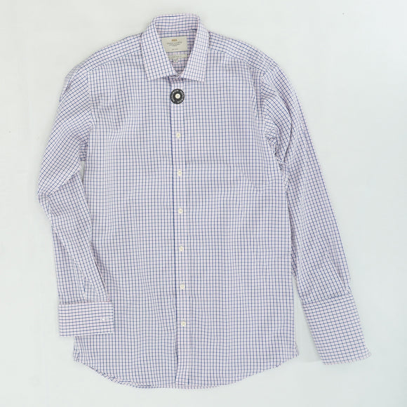 Non-Iron Plaid Button Down Size 15.5