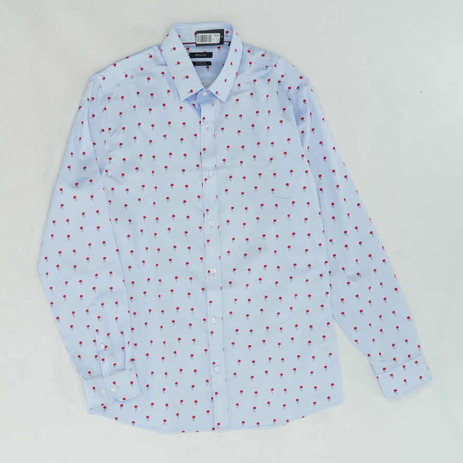 Jelly Fish Button Down Shirt Size 15.5