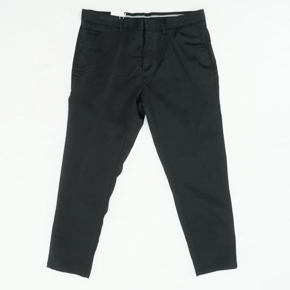 Black Cropped Pants Size 36W 29L