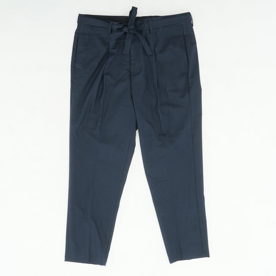 Navy Pleated Pants Size 36W 32L