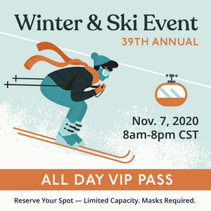 2020 Ski Sale Voucher - Full Day VIP Pass