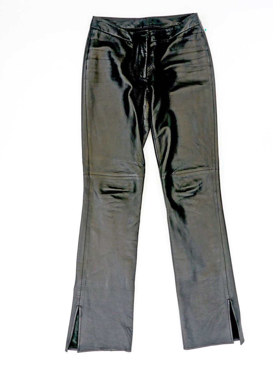 Black Leather Pant Size 2