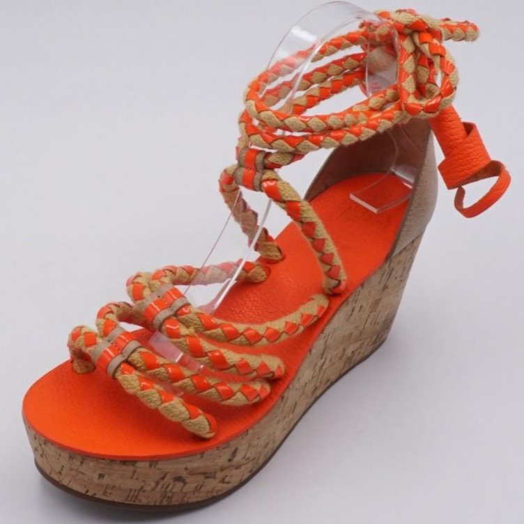 Sandal Wedges With Straps Size 6.5