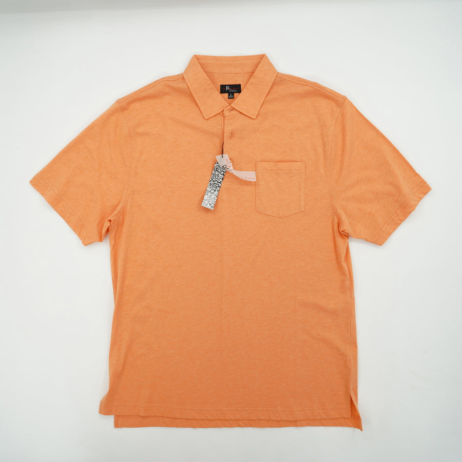 Short Sleeve Polo with Pockets Size L