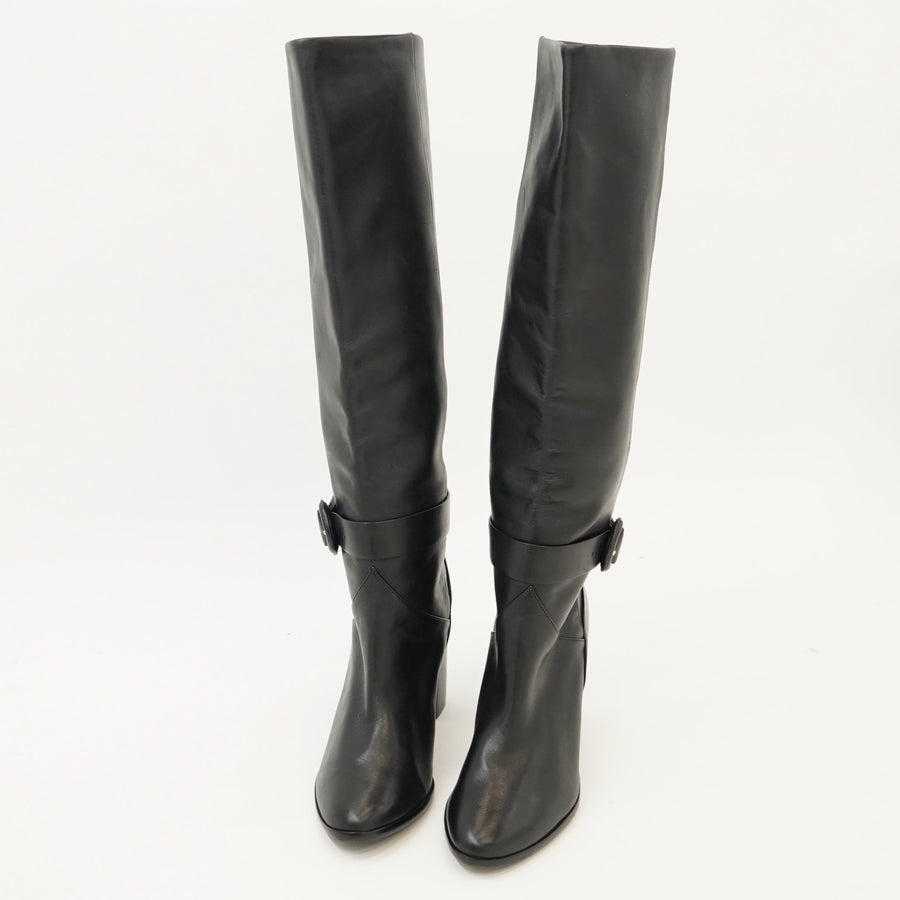 Celsiar Leather Knee High Boots - Size 7